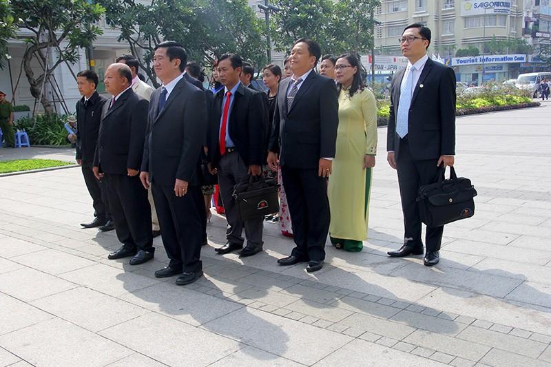 Đoàn tư pháp tỉnh Luang prabang thăm Sở tư pháp TP.HCM - ảnh 10