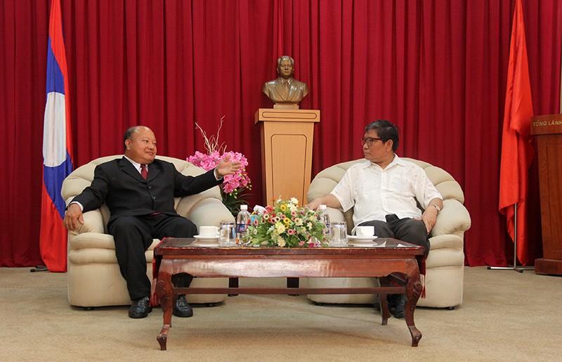 Đoàn tư pháp tỉnh Luang prabang thăm Sở tư pháp TP.HCM - ảnh 7