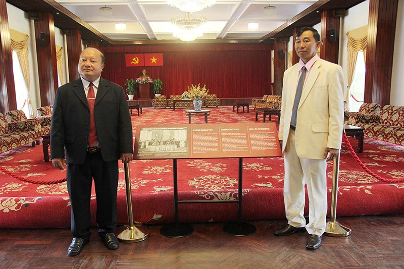 Đoàn tư pháp tỉnh Luang prabang thăm Sở tư pháp TP.HCM - ảnh 16