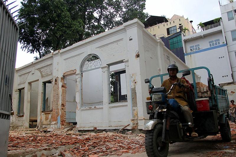 TP.HCM: Thêm một biệt thự cổ hơn 200 tỉ đồng bị đập bỏ - ảnh 13