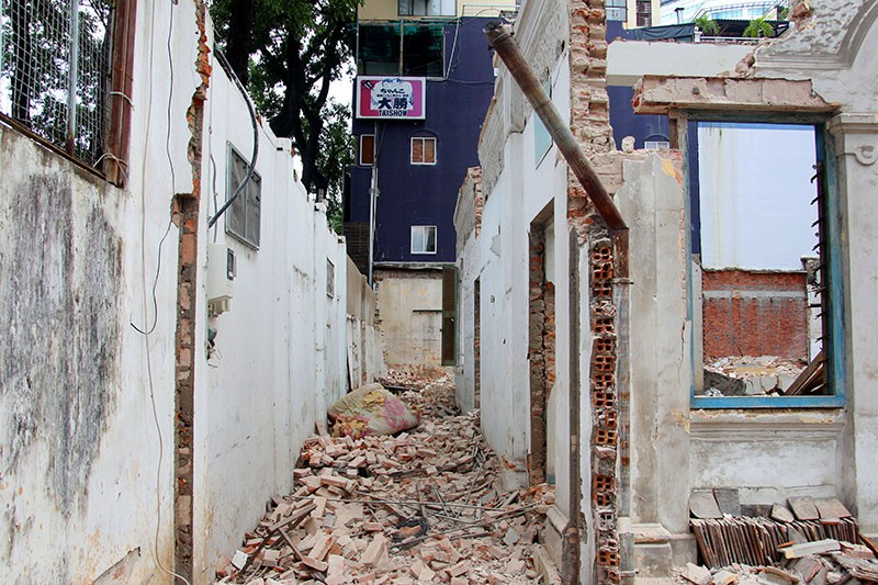 TP.HCM: Thêm một biệt thự cổ hơn 200 tỉ đồng bị đập bỏ - ảnh 6