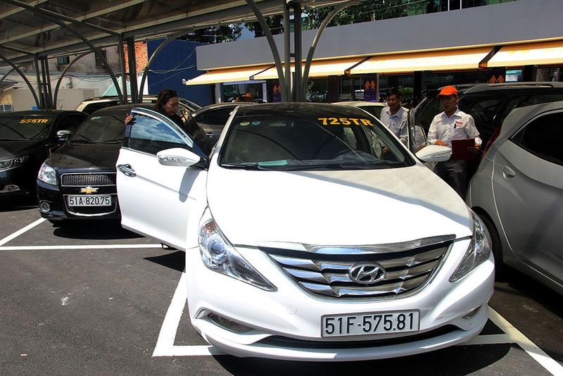 'Chợ trời' ô tô kiểu Mỹ giữa lòng TP.HCM - ảnh 13