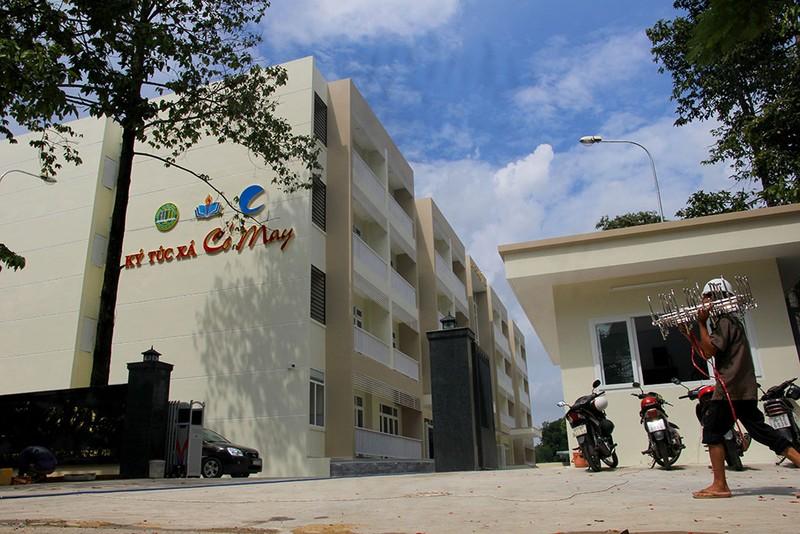 Cận cảnh KTX 40 tỉ miễn phí cho sinh viên nghèo ở TP.HCM - ảnh 1