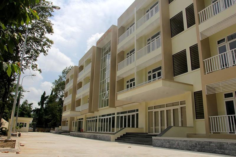 Cận cảnh KTX 40 tỉ miễn phí cho sinh viên nghèo ở TP.HCM - ảnh 2