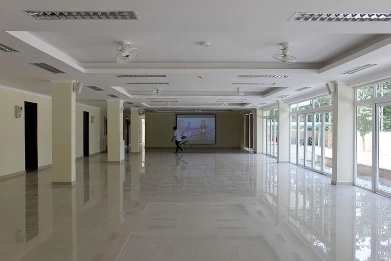 Cận cảnh KTX 40 tỉ miễn phí cho sinh viên nghèo ở TP.HCM - ảnh 3