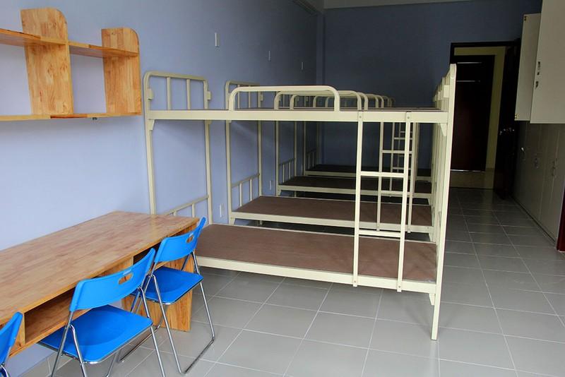 Cận cảnh KTX 40 tỉ miễn phí cho sinh viên nghèo ở TP.HCM - ảnh 5