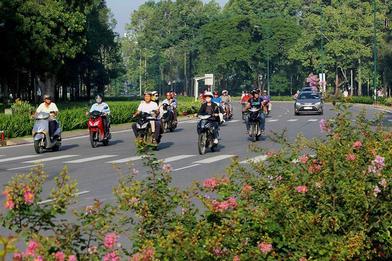 Tuyến đường Hồng Hà nằm trong dự án Tân Sơn Nhất - Bình Lợi - Vành đai ngoài chính thức thông xe.