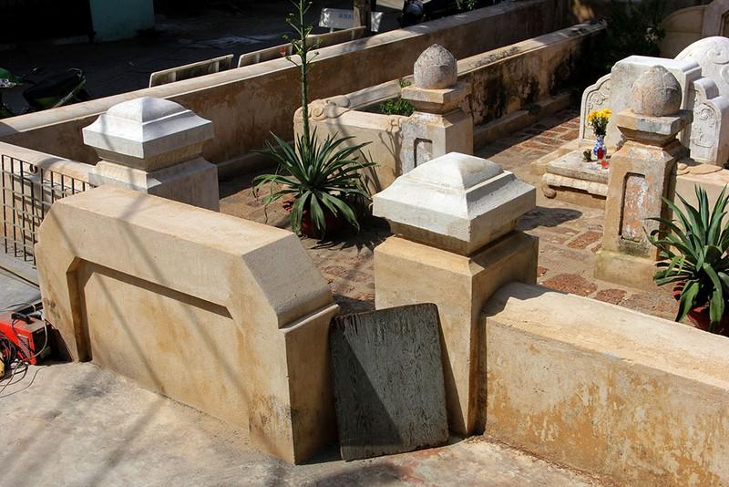 Mộ cổ khang trang của vị tiền hiền sáng lập chợ Thủ Đức - ảnh 2
