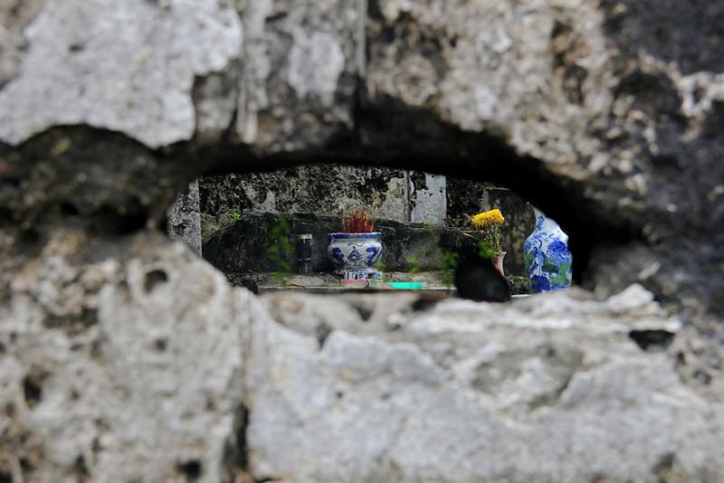 Chùm ảnh: Khu mộ cổ độc đáo gần 200 năm ở Gò Quéo  - ảnh 24