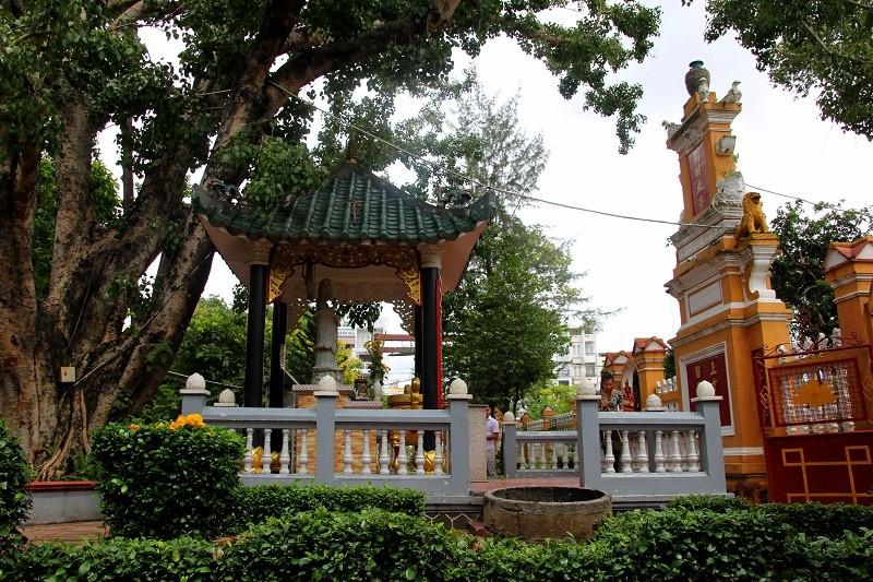 Ngôi chùa gần 300 năm tuổi giữa lòng thành phố - ảnh 4