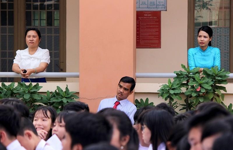 Mang bánh xèo đến trường học để nói chuyện văn hóa  - ảnh 5