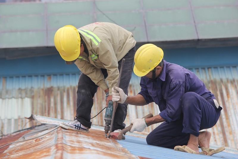 Đang đập Thương xá Tax để xây công trình 40 tầng - ảnh 12
