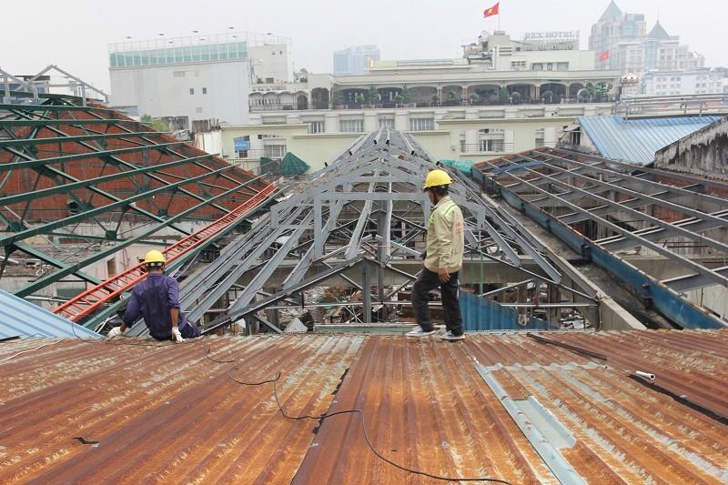 Đang đập Thương xá Tax để xây công trình 40 tầng - ảnh 25