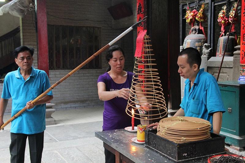 Chùa cổ gần 300 năm tuổi của người Hoa ở chợ Lớn - ảnh 13