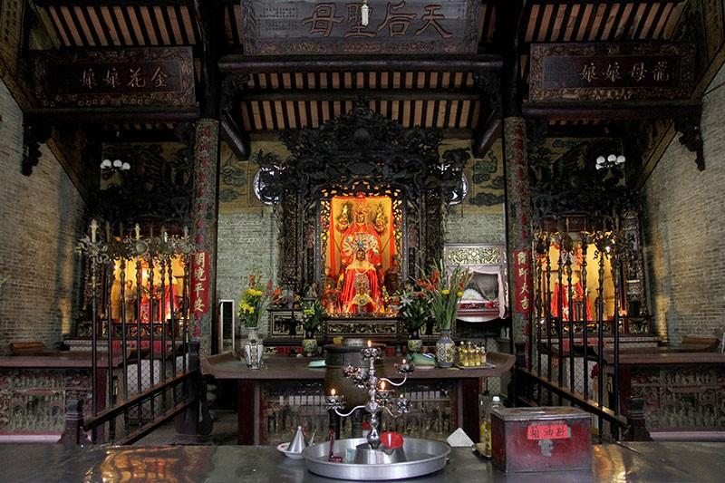 Chùa cổ gần 300 năm tuổi của người Hoa ở chợ Lớn - ảnh 14