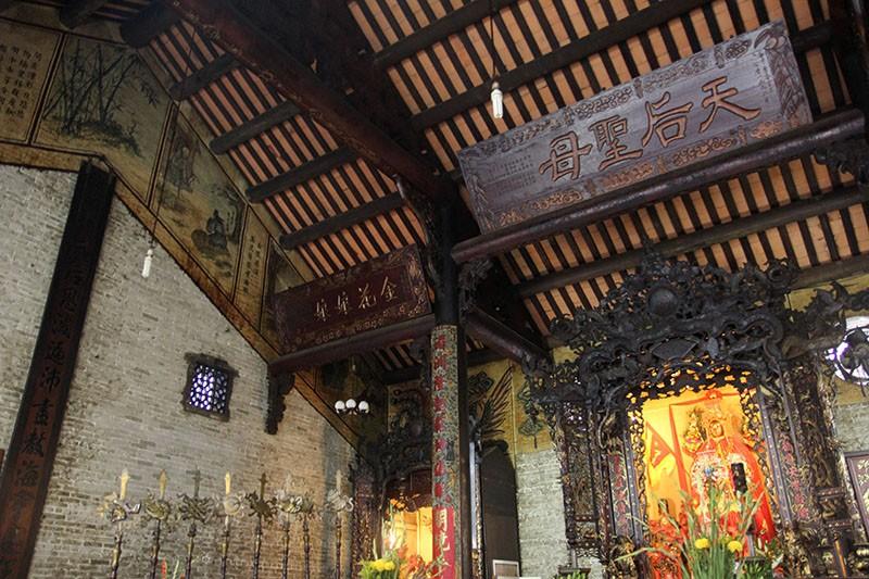 Chùa cổ gần 300 năm tuổi của người Hoa ở chợ Lớn - ảnh 16