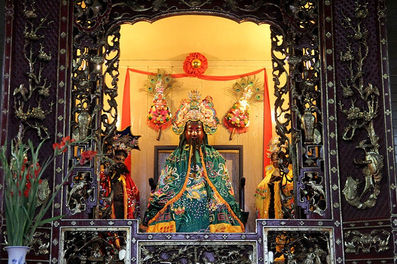 Chùa cổ gần 300 năm tuổi của người Hoa ở chợ Lớn - ảnh 19