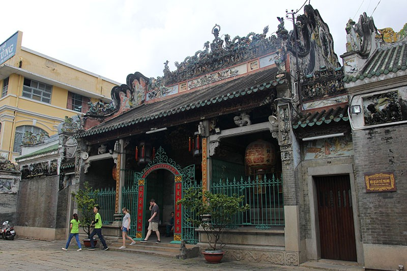 Chùa cổ gần 300 năm tuổi của người Hoa ở chợ Lớn - ảnh 2