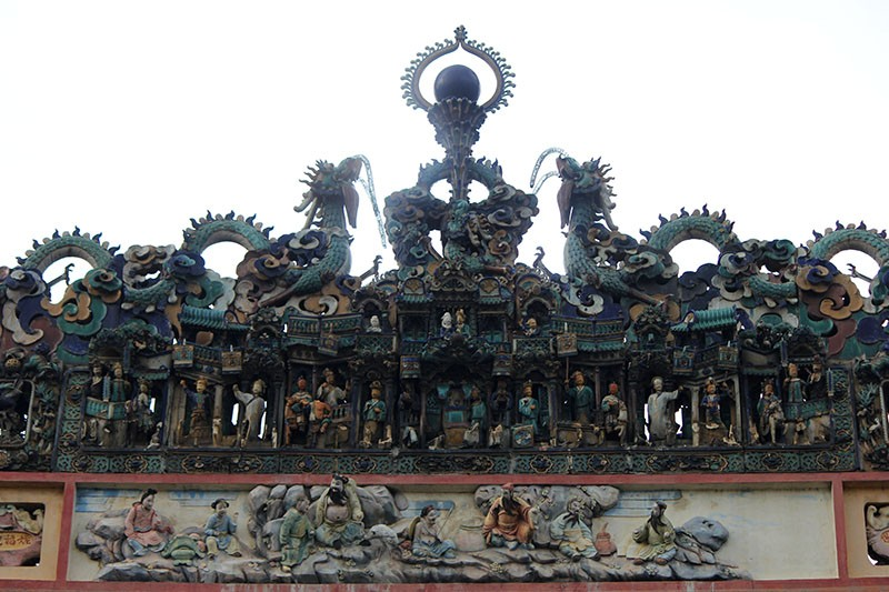 Chùa cổ gần 300 năm tuổi của người Hoa ở chợ Lớn - ảnh 4