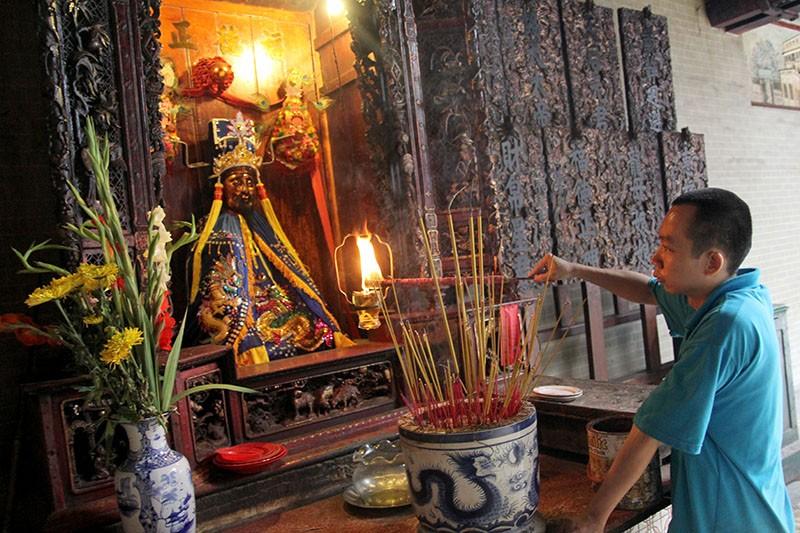 Chùa cổ gần 300 năm tuổi của người Hoa ở chợ Lớn - ảnh 7