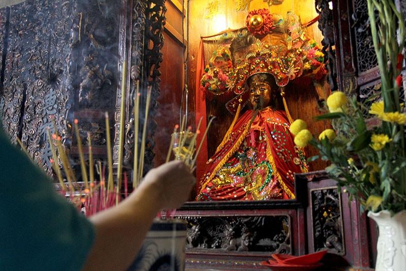 Chùa cổ gần 300 năm tuổi của người Hoa ở chợ Lớn - ảnh 8