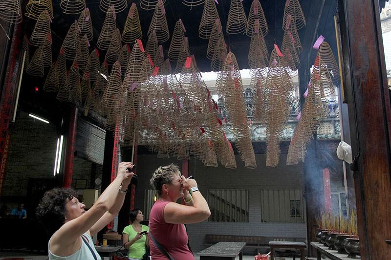 Chùa cổ gần 300 năm tuổi của người Hoa ở chợ Lớn - ảnh 12