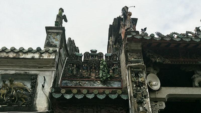 Chùa cổ gần 300 năm tuổi của người Hoa ở chợ Lớn - ảnh 5