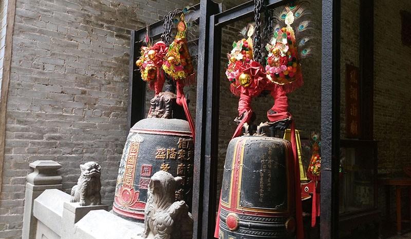 Chùa cổ gần 300 năm tuổi của người Hoa ở chợ Lớn - ảnh 17