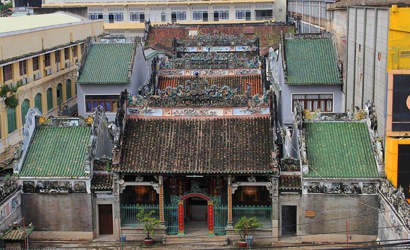 Chùa cổ gần 300 năm tuổi của người Hoa ở chợ Lớn - ảnh 1