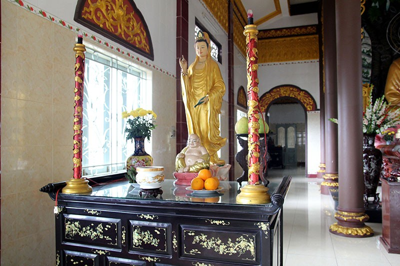 Diện mạo mới của ngôi chùa được xây dựng từ năm 1721 - ảnh 13