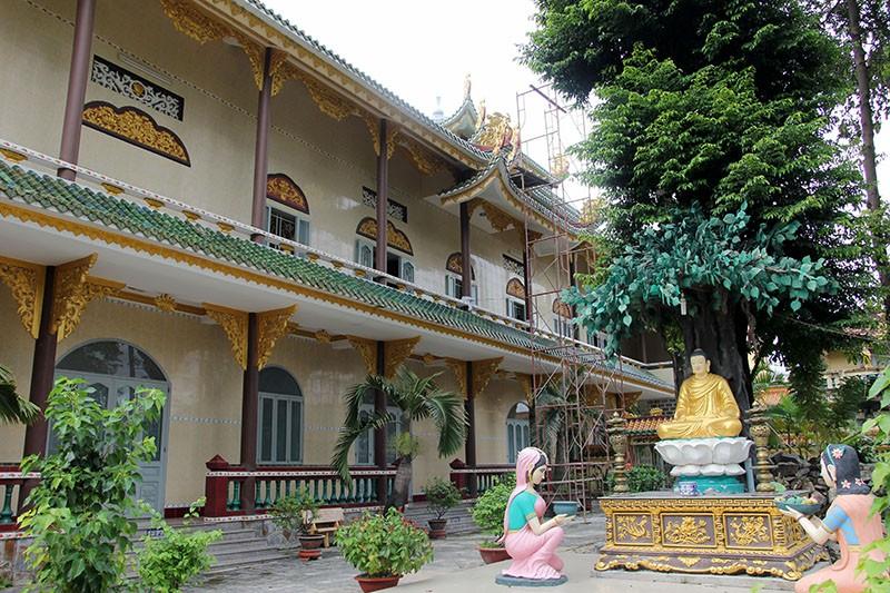 Diện mạo mới của ngôi chùa được xây dựng từ năm 1721 - ảnh 7