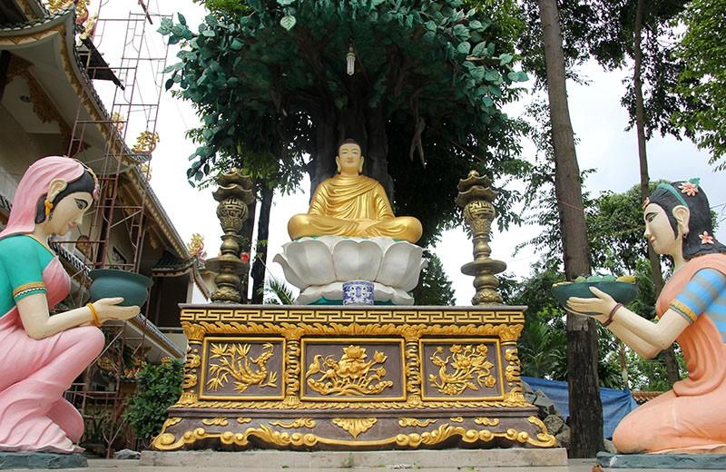Diện mạo mới của ngôi chùa được xây dựng từ năm 1721 - ảnh 8