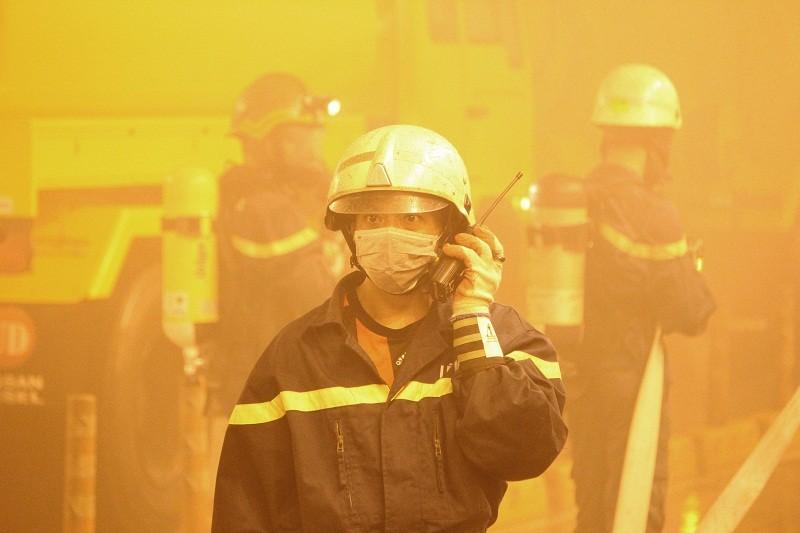 Diễn tập giải cứu 30 người bị tai nạn ở hầm Thủ Thiêm - ảnh 7