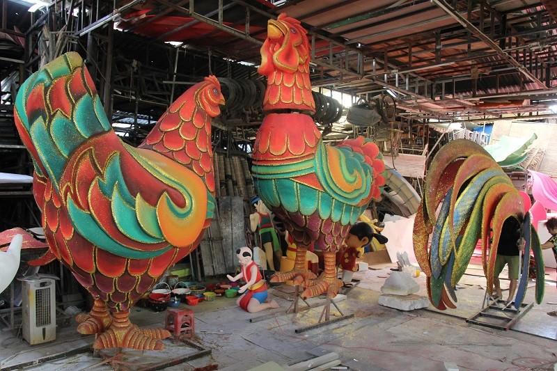 Đại gia đình gà sẵn sàng xuống phố đi bộ Nguyễn Huệ - ảnh 10