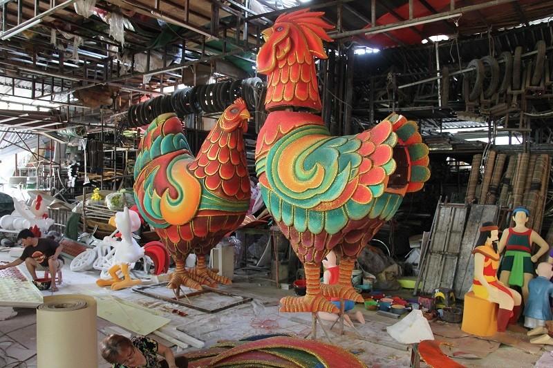 Đại gia đình gà sẵn sàng xuống phố đi bộ Nguyễn Huệ - ảnh 2