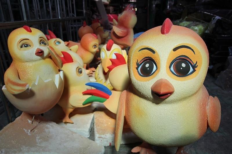 Đại gia đình gà sẵn sàng xuống phố đi bộ Nguyễn Huệ - ảnh 9