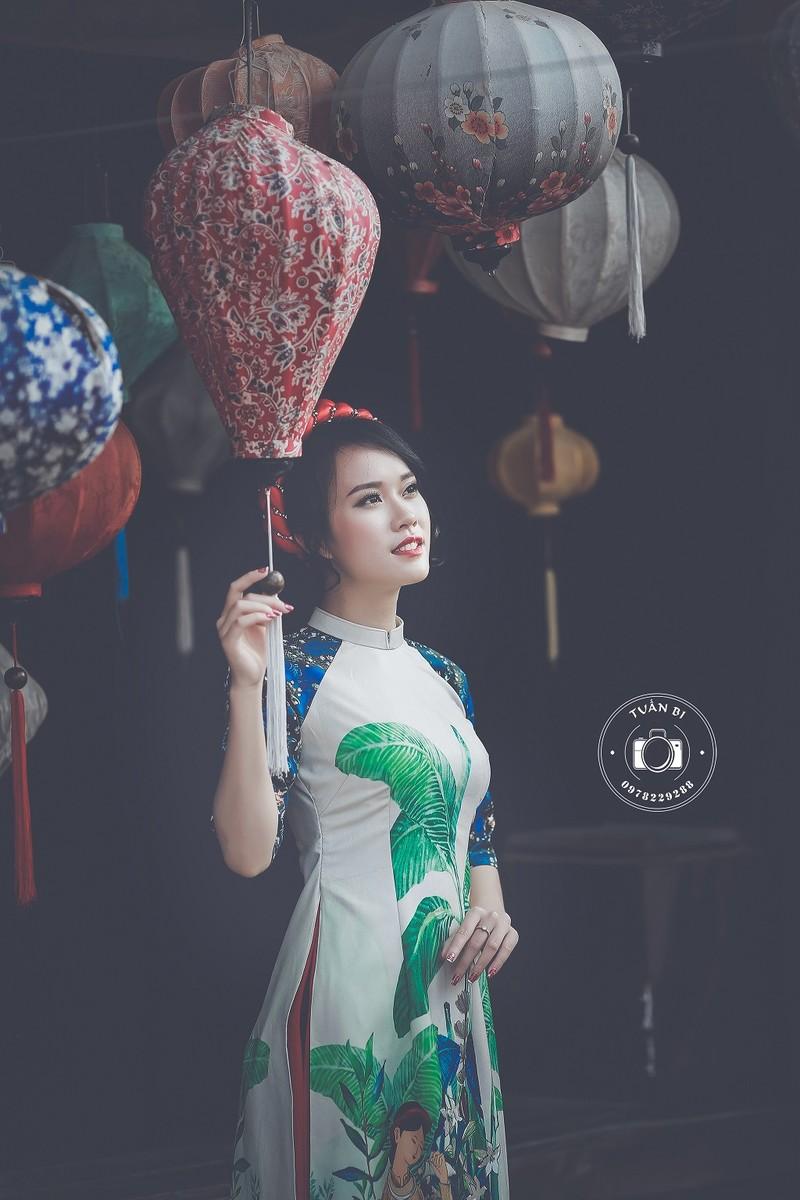 Ngắm Á khôi Nữ sinh viên VN duyên dáng bên hoa đào - ảnh 10