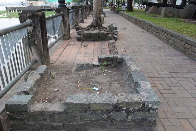 Cảnh điêu tàn trong công viên bến Bạch Đằng - ảnh 3