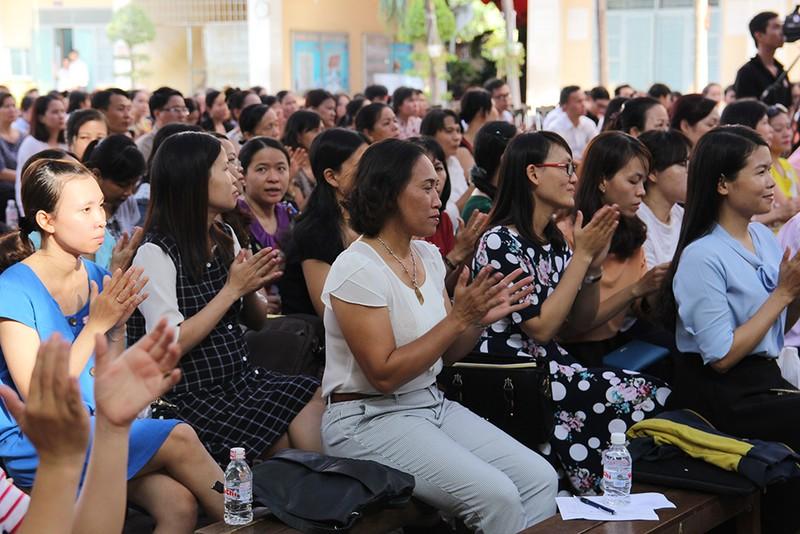 Trường THPT Nguyễn Du lập CLB dành riêng cho phụ huynh - ảnh 1