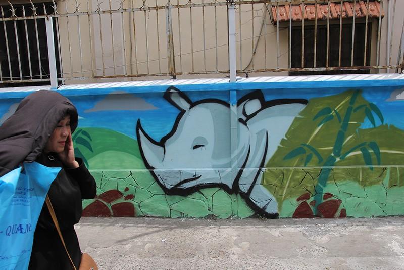Ngắm những bức tường bẩn ở quận 1 được thay áo mới - ảnh 10