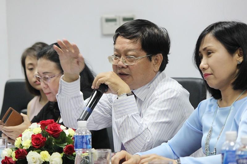 Đoàn Hội nhà báo Hàn Quốc thăm báo Pháp Luật TP.HCM - ảnh 3