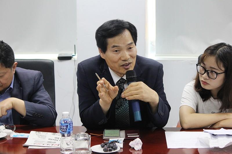 Đoàn Hội nhà báo Hàn Quốc thăm báo Pháp Luật TP.HCM - ảnh 7