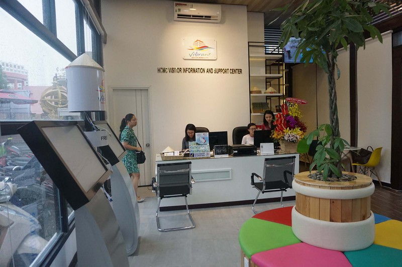 Trạm thông tin 'thân thiện' kéo du khách đến TP.HCM - ảnh 3