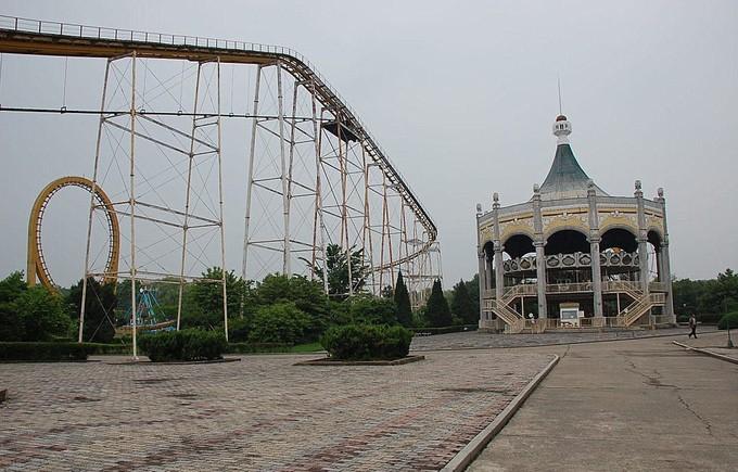 Hình ảnh hiếm hoi trong công viên giải trí ở Triều Tiên - ảnh 10