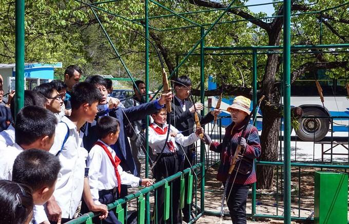 Hình ảnh hiếm hoi trong công viên giải trí ở Triều Tiên - ảnh 4