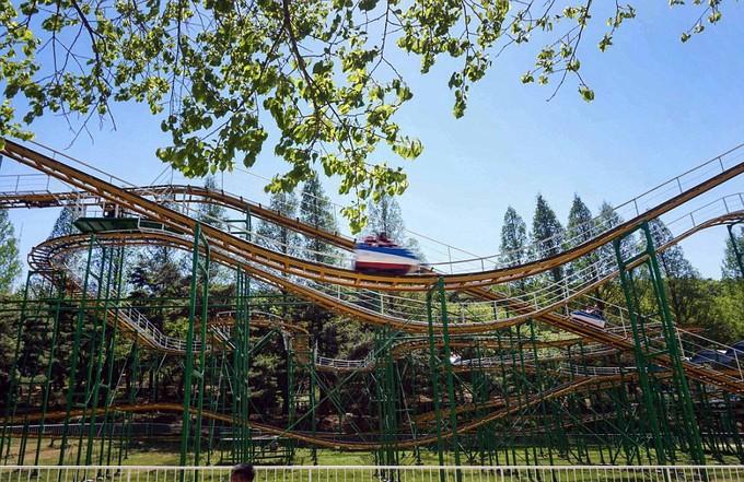 Hình ảnh hiếm hoi trong công viên giải trí ở Triều Tiên - ảnh 6