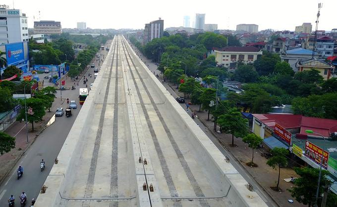 Toàn cảnh tuyến metro 36.000 tỉ đầu tiên ở Hà Nội - ảnh 4