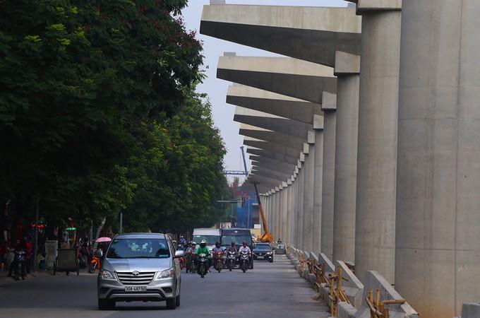 Toàn cảnh tuyến metro 36.000 tỉ đầu tiên ở Hà Nội - ảnh 7