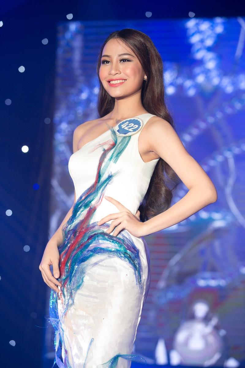 Dàn người đẹp HH Đại Dương khoe dáng trong đêm bán kết - ảnh 16