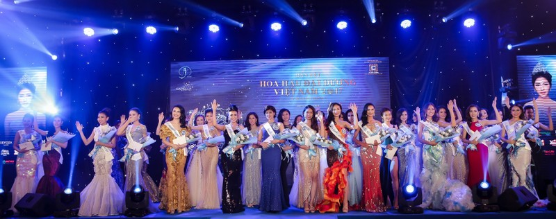 Dàn người đẹp HH Đại Dương khoe dáng trong đêm bán kết - ảnh 17